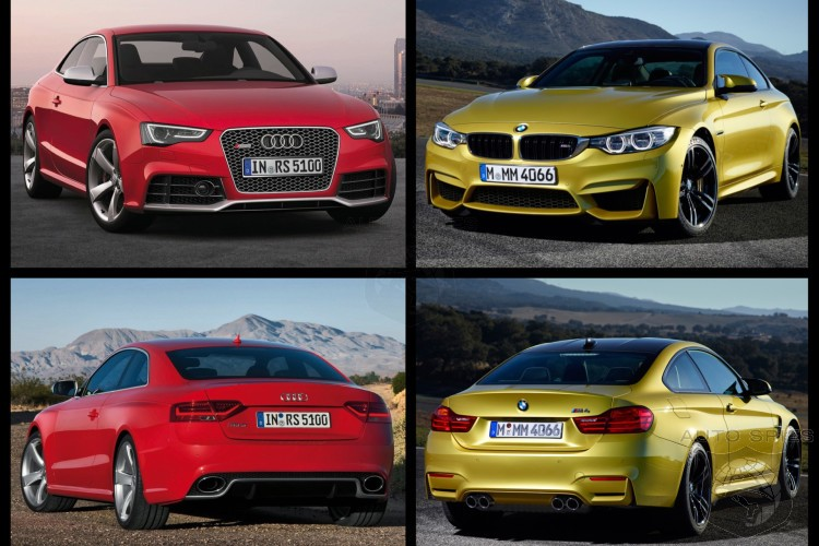 Photo Comparison BMW M Vs Audi RS Which Is The Better Looking - Bmw vs audi