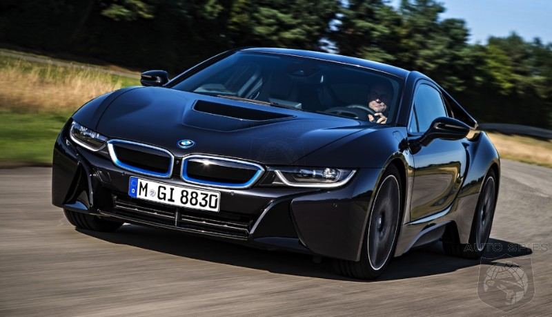 BMW Test Driver Crashes i8 Supercar In German Countryside