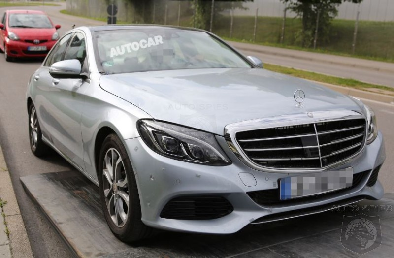 Mercedes-Benz C-Class Plug-in Hybrid Caught In The Nude