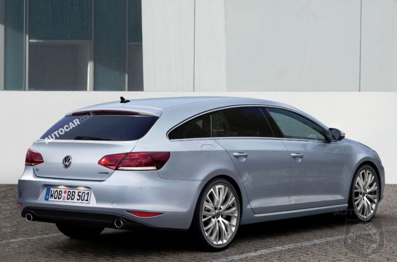 Volkswagen Moving Forward With Shooting Brake Version Of CC
