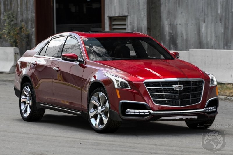 If Cadillac Decided To Spawn A CTS CUV To Take On The 5 ...