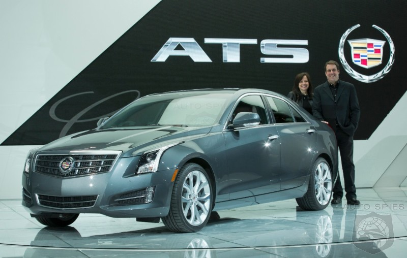 DETROIT AUTO SHOW: Cadillac ATS And Dodge Ram Take Honors For 2013 North American Car/Truck Of Year