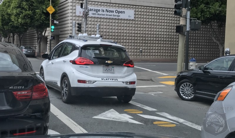 Chevy Bolt Self Driving Protoypes Experiencing Same Google Like Crashes