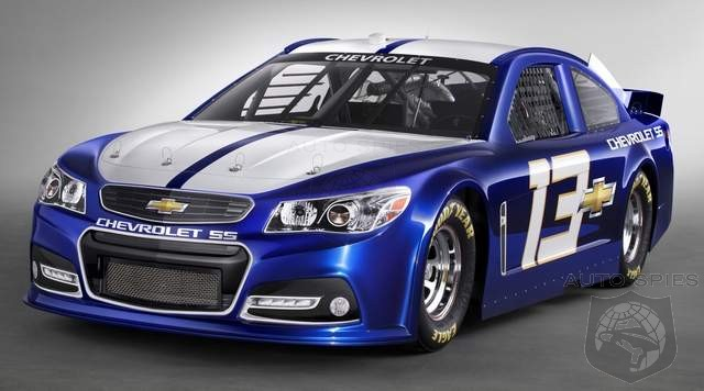 2013 NASCAR Chevrolet SS Makes Its Debut In Las Vages