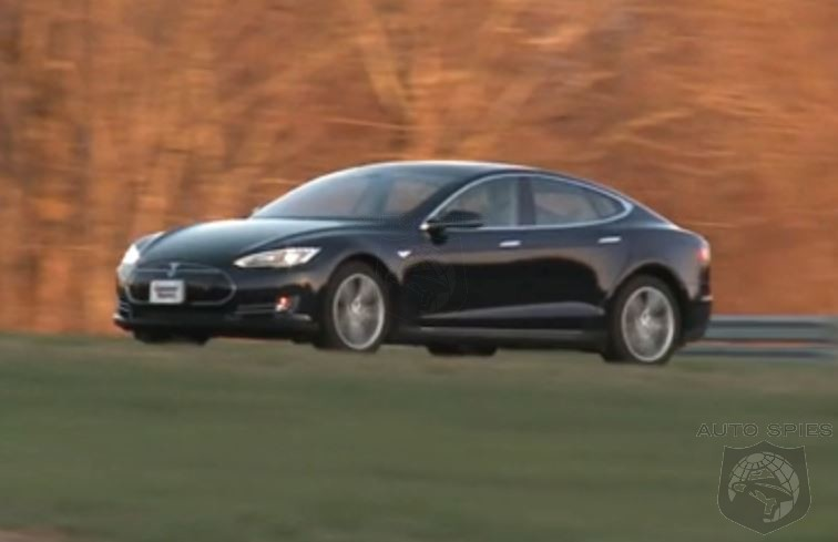 Consumer Reports Becomes Smitten With Telsa's Model S