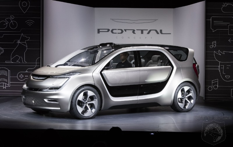 Chrysler Green Lights Portal Electric Minivan Concept For Production