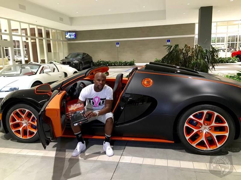 Floyd Mayweather Drops A Cool 3 50 Million On A Bugatti Veyron