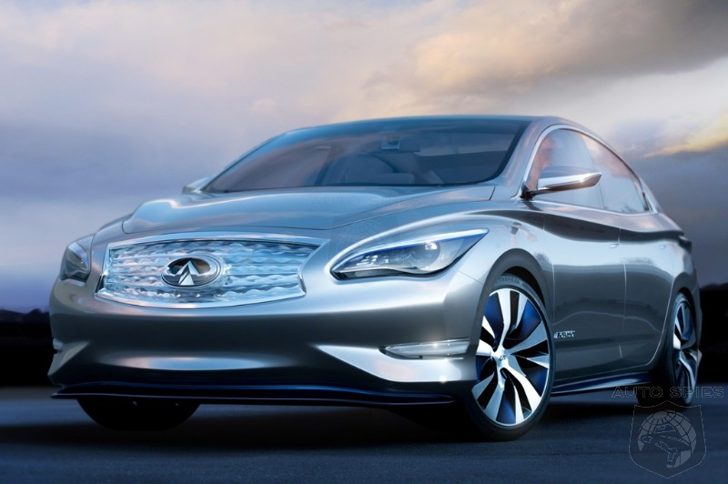 NEW YORK AUTO SHOW: Infiniti Debuts LE Concept Zero Emission Luxury Sedan