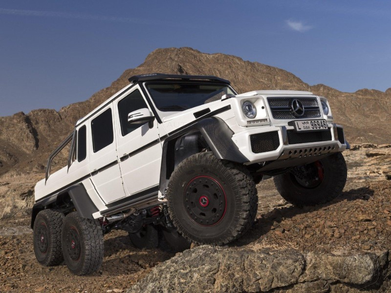 Mercedes-Benz Prices Ultimate Off Road Warrior G63 AMG 6x6 At 456,900 Euros