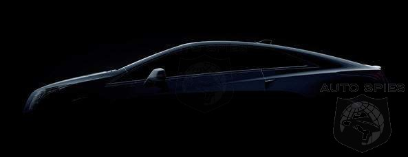 Things That Make You Go Hmmm - Cadillac Teases New ELR Plug-In Luxury Coupe