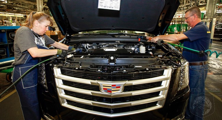 GM Boosting Production Of Gas Guzzlers By 60,000 Units Annually Because Of Consumer Demand