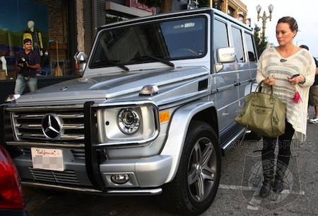 Hollywood Stars Love The G-Wagen But Will  A New Baby G Be Just As Popular?