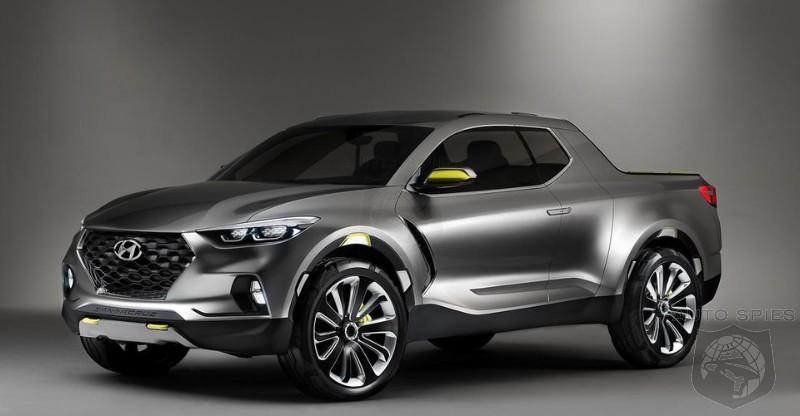 Hyundai Santa Cruz Pickup May Get The Genesis GV80 Diesel Engine