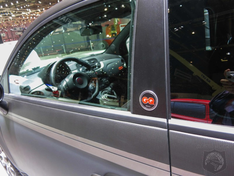 GENEVA MOTOR SHOW: World Exclusive First Shots Of The Fiat 500 'GQ' Edition From The Floor