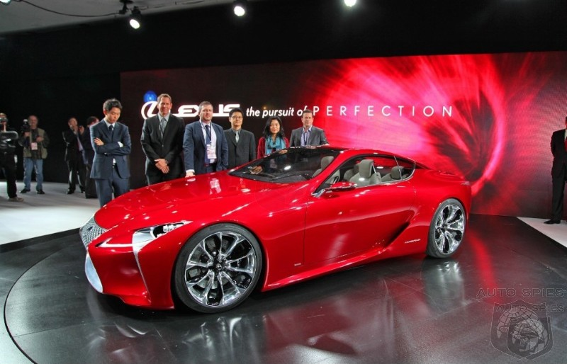 Lexus Listens To Feedback And Considers Production Of LF-LC Concept