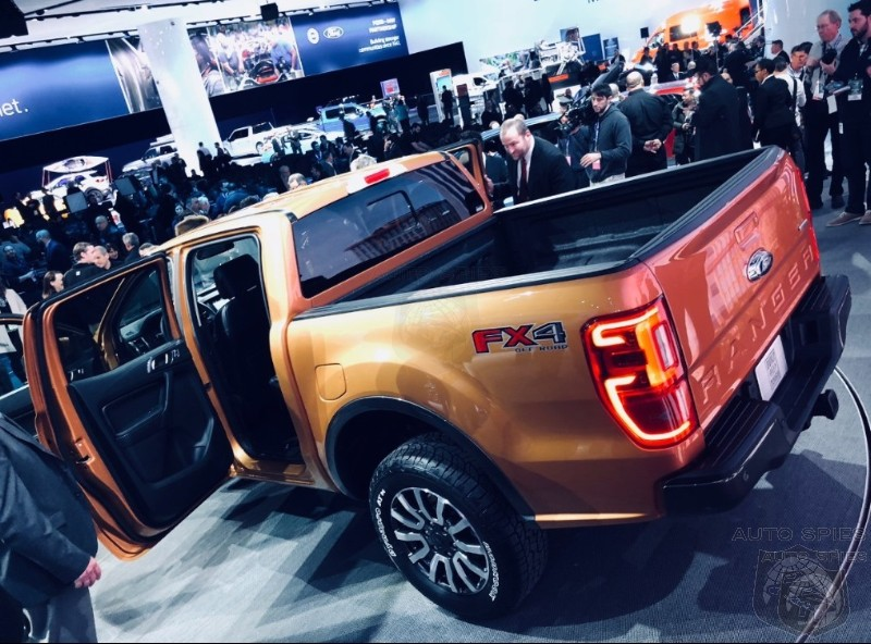 NAIAS Is The New Ranger A Match For The Colorado And Canyon Twins Or Is The Party Already Over