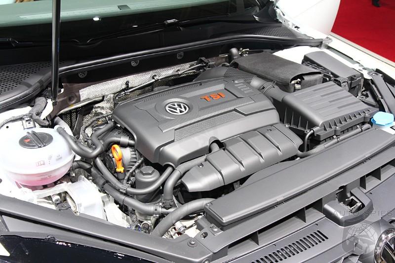 Volkswagen To Drop 2 5 Liter Cylinder For 1 8 Turbo Motor Starting 2017 Model Year