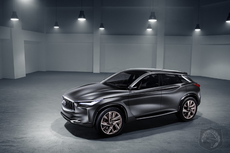 PARIS MOTOR SHOW Infiniti QX Sport Inspiration A Little TOO Inspired By The Audi Q5