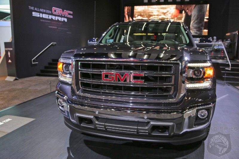 DETROIT AUTO SHOW: GM Locks The Doors On New Full Sized Trucks, But Not Before We Get The Scoop On The Inside!