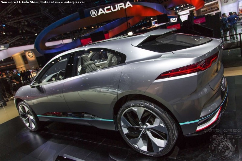 #IAA: If You Are Looking For The Jaguar I-Pace At Frankfurt, You Won't Find It