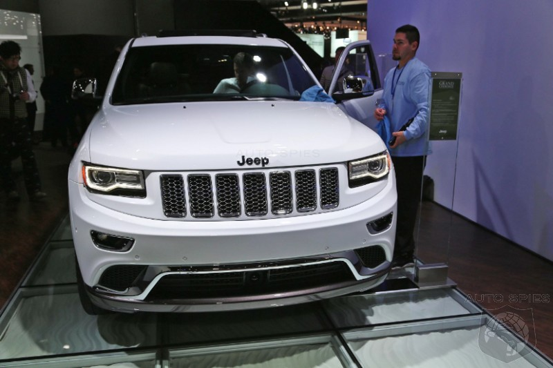 DETROIT AUTO SHOW:  2014 Grand Jeep Cherokee Gains An Italian Soul In Diesel Ecotrim Form