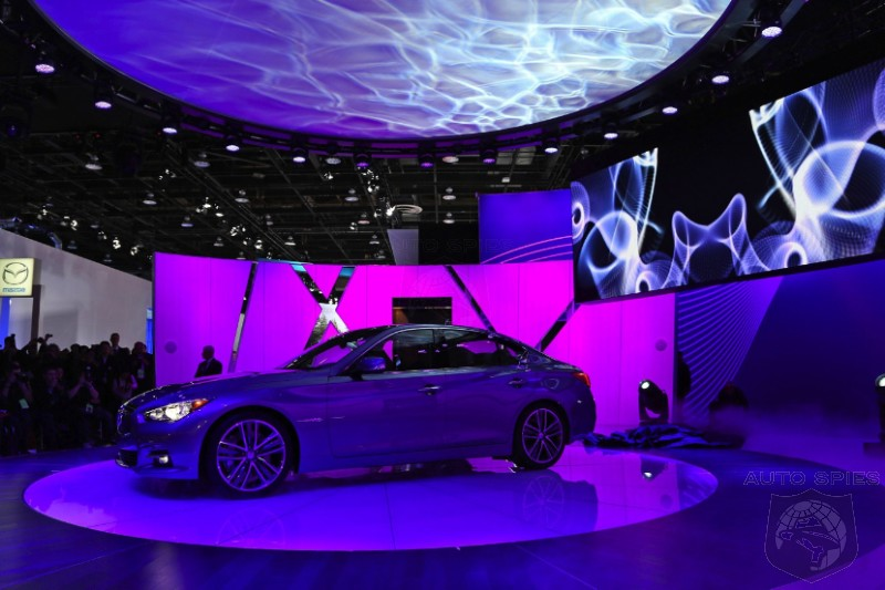 DETROIT AUTO SHOW: Infiniti Restyles An Icon - But Does The Exterior Of All New The Q50 Scream Performance Or Luxury To You?