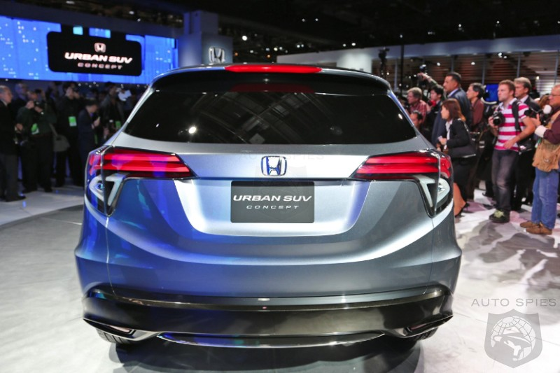 DETROIT AUTO SHOW: Honda's Urban SUV Concept Might Just Be The Ticket Needed To Crush The Toyota RAV-4