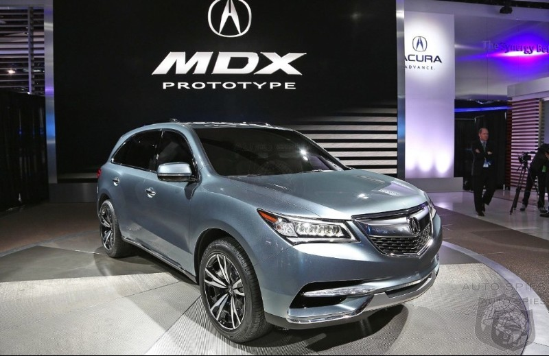 DETROIT AUTO SHOW: Did Acura Score The Biggest Let Down Of The Show With The MDX Prototype?