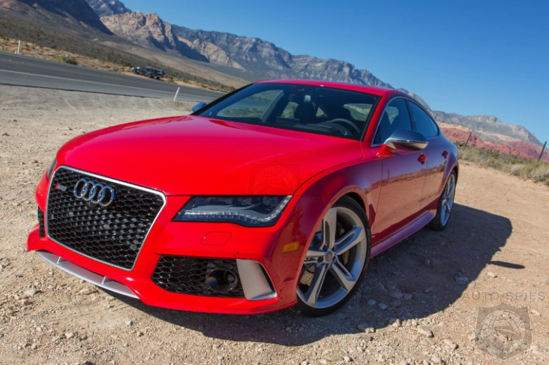 On The Road With The First Real Life Shots Of Audi's New RS 7!
