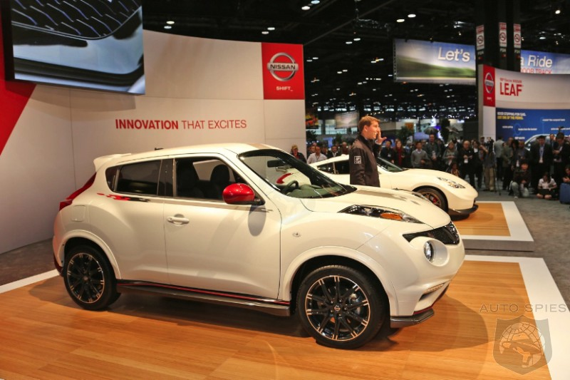 CHICAGO AUTO SHOW: Nissan Gets Serious And Rolls Out The Nismo Juke And 370Z