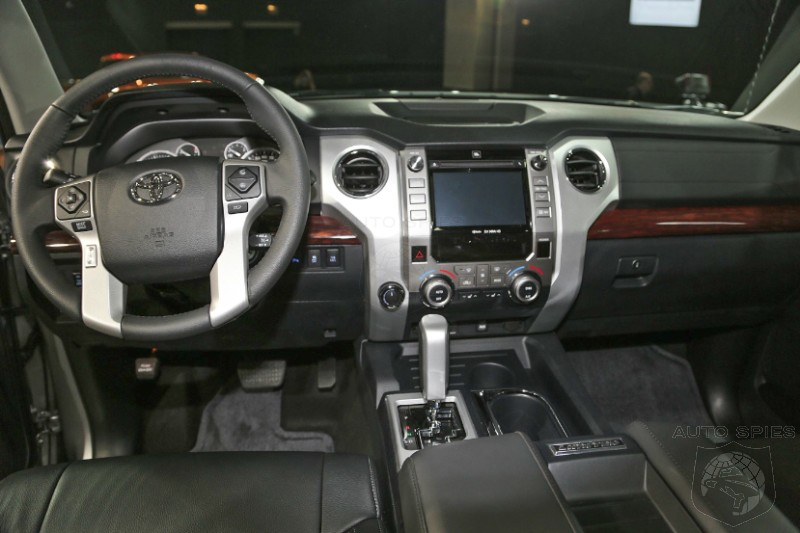 CHICAGO AUTO SHOW: First Live Shots Of The 2014 Toyota Tundra INTERIOR - Is It Everything You Hoped For?