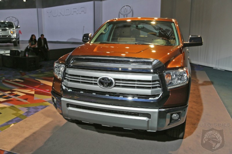 CHICAGO AUTO SHOW: Does The New Tundra Look Like A REAL Truck Or A City Slicker Special?