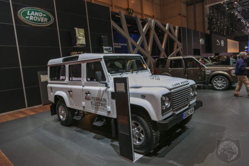 GENEVA MOTOR SHOW: Land Rover Taking EV Research Off Road With New Defender Concept