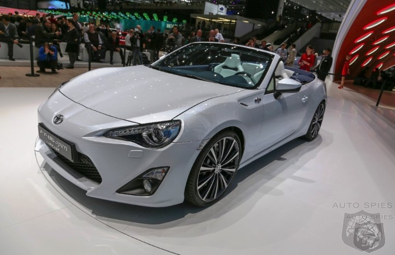 GENEVA MOTOR SHOW: Yes Or No? Toyota Ponders GT 86 Open Top Production
