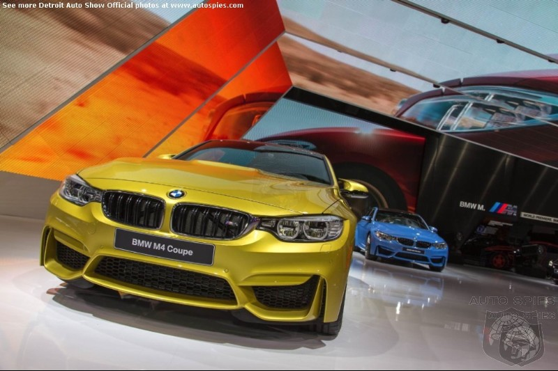 DETROIT AUTO SHOW: 2015 BMW M3 Sedan And M4 Coupe Thunder Into Motor City