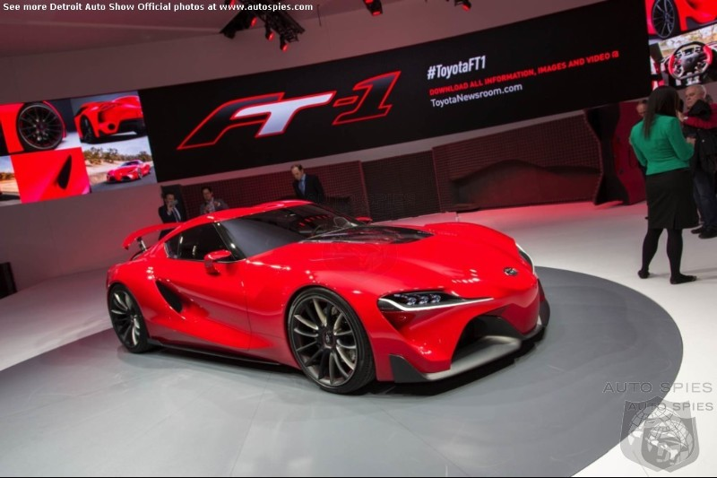 Toyota's Supra Will Be A Turbo 4 Cylinder Hybrid Due In Showrooms 2017