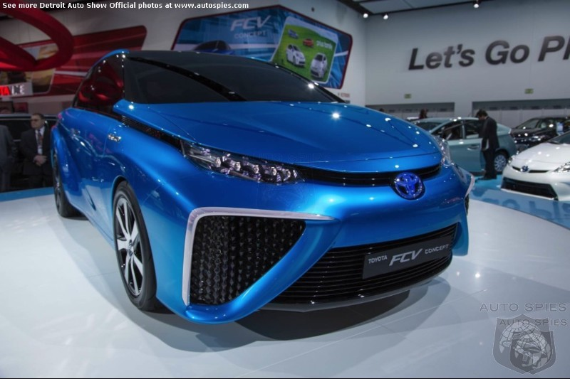 Too Expensive? Toyota's $69K FCV Fuel Cell Car To Be Named Mirai