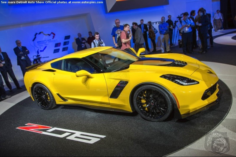 DETROIT AUTO SHOW: 2015 Corvette Z06 - Finally A True Super Car For The Every Day Man