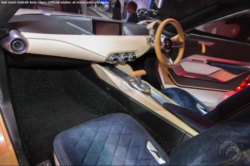 Detroit Auto Show Nissan S Idx Twins Interior Bring Old School