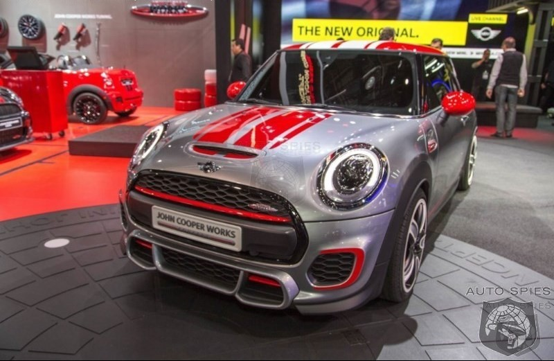 DETROIT AUTO SHOW: Big Things To Come From MINI With John Cooper Works Concept Leading The Way