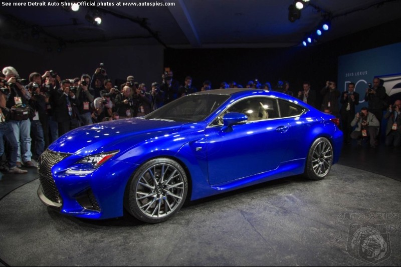 DETROIT AUTO SHOW: Lexus New Strategy Is To Pick Apart The Germans At The High End