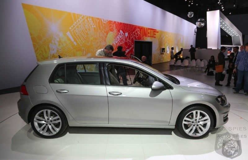 NEW YORK AUTO SHOW: Volkswagen Golf Declared The 2013 World Car Of The Year
