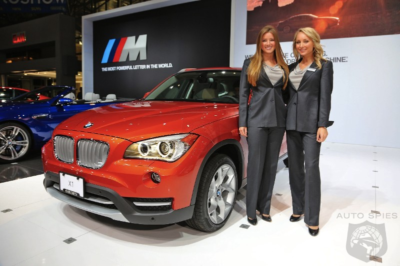 NEW YORK AUTO SHOW WORLD EXCLUSIVE: Up Close And Personal With The First Live Shots Of The BMW X1