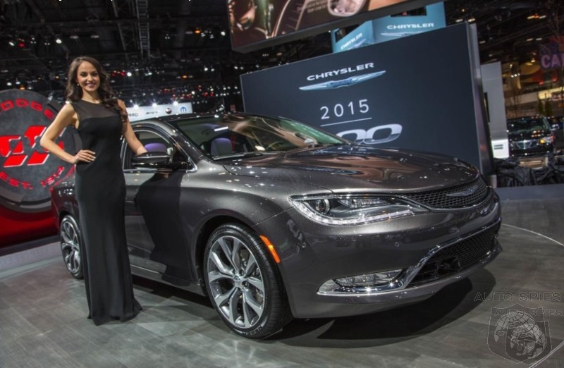 CHICAGO AUTO SHOW: Chrysler Passed Over The Japanese And Targeted Ford's Fusion With New 200