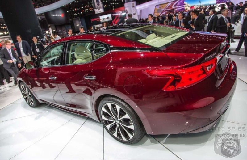 #NYIAS: Is The New Maxima Going To Eat Away At Entry Level Infiniti Sales?