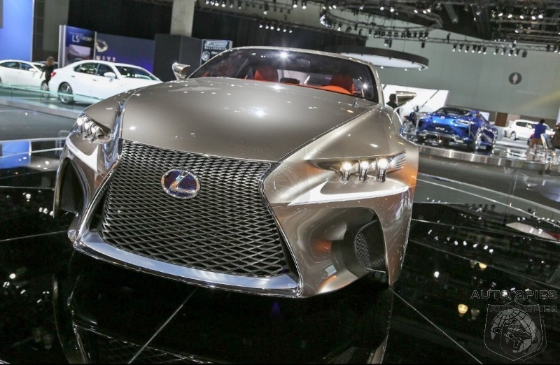 LA AUTO SHOW: Lexus LF-CC Coupe To Hit Showroom Floor By 2015