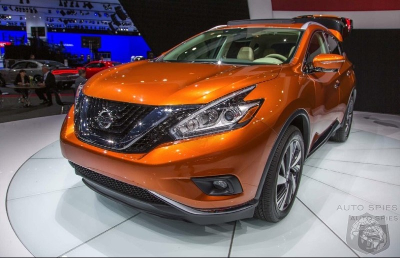 NEW YORK AUTO SHOW Nissan Rolls The Dice On The New Murano Are You Interested NOW