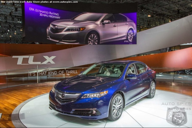 Is Acura s Incoming TLX Too Much Like The Outgoing Models To Succeed