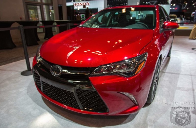 NEW YORK AUTO SHOW Toyota Goes Bold With New Camry But Will This Keep The Faithful From Cross Shopping