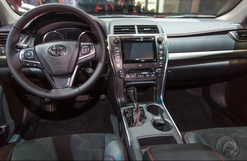 NEW YORK AUTO SHOW: First Exclusive Shots Of The New Camry On The INSIDE! Did Toyota Put Their Money Where It Counts?